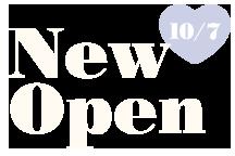NEW OPEN!!10/7